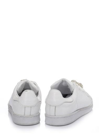 Girl Boss Spor Ayakkabı Beyaz